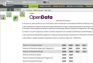 Open Data Udine